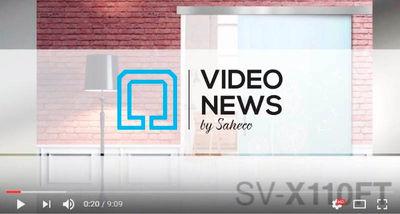 Nuevo video de los sistemas SV-X70 / X110 FT de Saheco