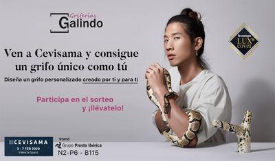 Concurso Griferías Galindo: Gana un grifo diseñado por ti en Cevisama