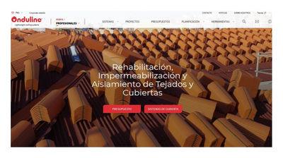 Onduline lanza un nuevo sitio web, mucho más completo e intuitivo, para profesionales y particulares