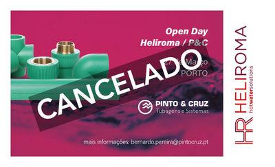 Heliroma-Plásticos S.A. y Grupo Pinto & Cruz cancelan los eventos open day programados para las próximas semanas