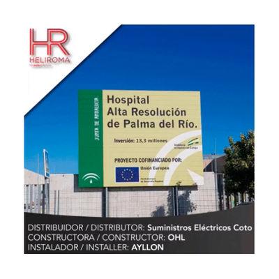 Proyecto Heliroma: Hospital de alta resolución de Palma del Río en Córdoba