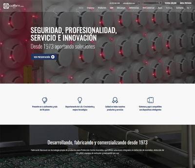 Cofem presenta nueva página web