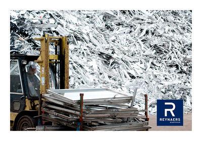 Reynaers Aluminium muestra el reciclaje infinito del aluminio