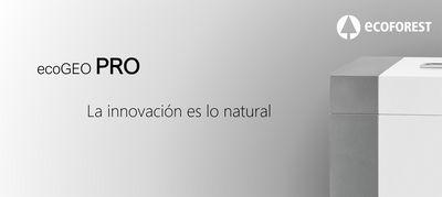 Ecoforest presenta la revolucionaria ecoGEO 1-6 PRO con refrigerante natural