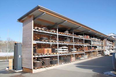 Röhrenhandel Appenzell amplia su capacidad de almacenamiento con estanterías cantiléver y de paletización de OHRA