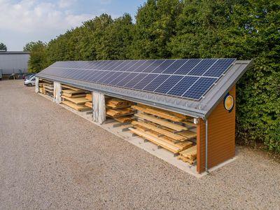 OHRA construye un almacén cantiléver para la carpintería Torsten Schmidt, sita en Turingia, Alemania