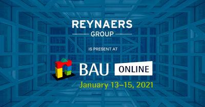 """Grupo Reynaers estará presente en la feria digital """"BAU online"""""""
