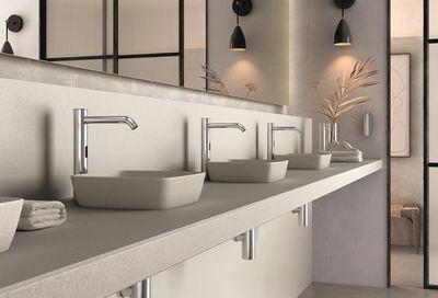 Serie Klin, la novedosa gama de grifos electrónicos con sensor para baño de Genebre