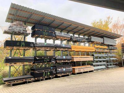 OHRA en la modernización del almacén de DWF Baustoff-Fachhandel