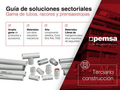 Pemsa muestra una amplia gama de Sistemas de Tubos para el sector Terciario Construcción