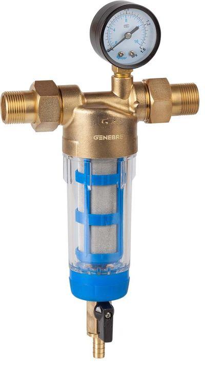 """Genebre lanza el filtro autolimpiante """"Clean"""" para fontanería y calefacción"""