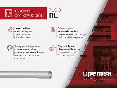Pemsa presenta la serie de tubos RL, la solución con altas prestaciones mecánicas para edificación y sector terciario