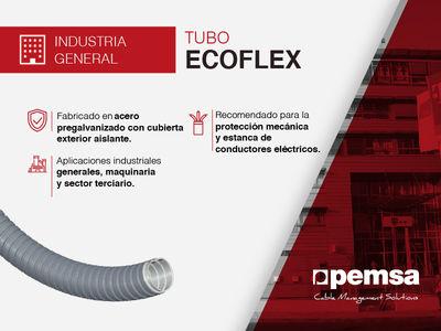 Descubre el Tubo ECOFLEX de Pemsa, la solución para la protección del cableado en varios sectores