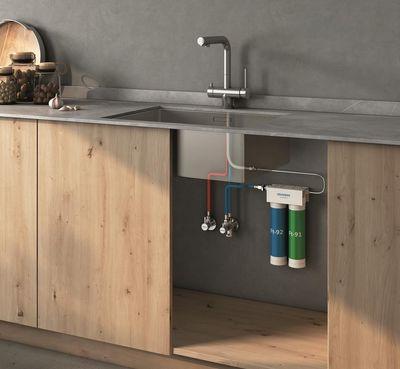 Genebre lanza el monomando de cocina 3 vías de la Serie TAU, un grifo con personalidad propia