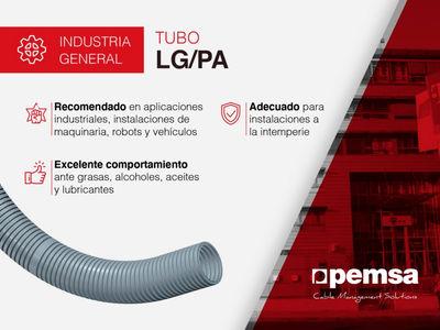 Pemsa presenta el Tubo LG-PA, la solución para situaciones a la intemperie que demanden gran flexibilidad