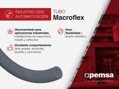 Pemsa presenta Tubo MACROFLEX, la mejor solución para cables de grandes diámetros