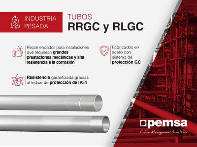 Llega el sistema de tubos RRGC y RLGC para edificación, sector terciario e industria pesada con altos requisitos de seguridad